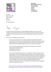 Click to see David Gale's letter to Nigel Farage