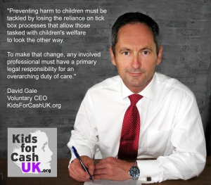 David Gale Kids for Cash UK