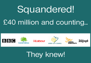 40 million squandered
