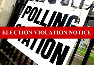 Derby South election crime